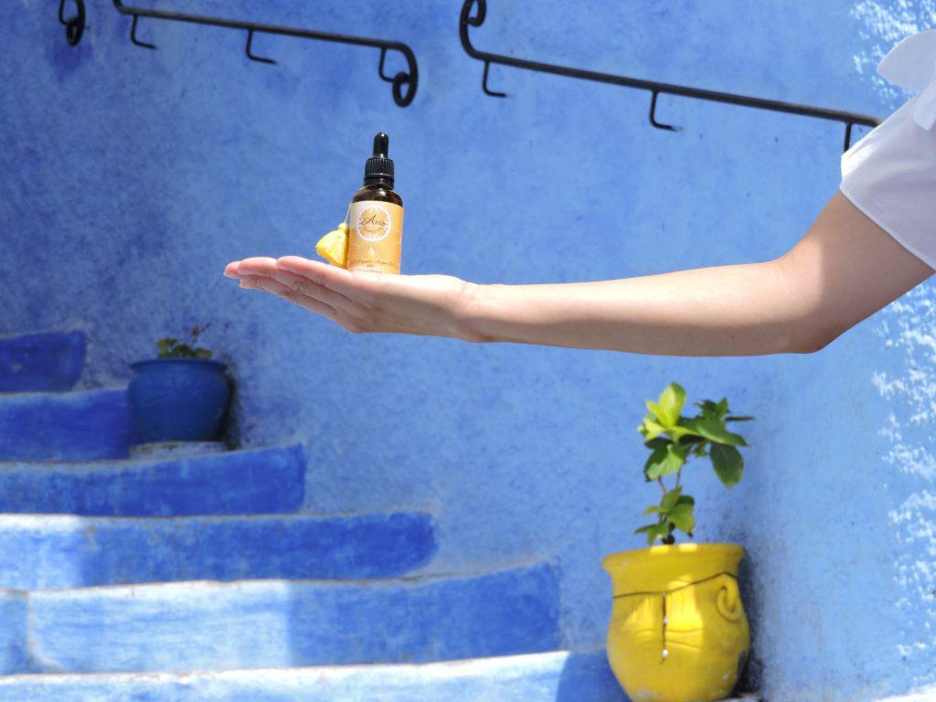 Aniaオーガニックアルガンオイルの特徴の画像